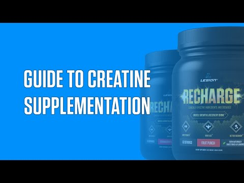The Definitive Guide To Creatine Monohydrate Supplementation
