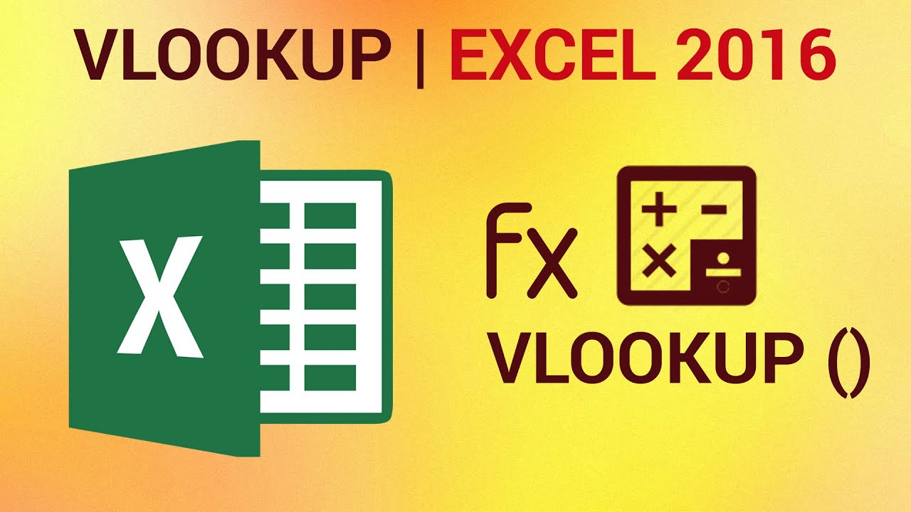 How to use VLOOKUP in Excel 20