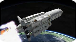 Skyranger - Interplanetary Cargo Ship - Stock Career 1.04