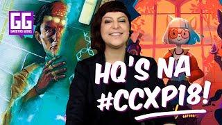 DICAS: QUADRINHOS da #CCXP18