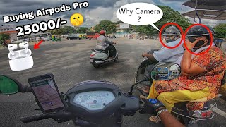 F**K 😠 -On The Way To Buy New Airpods Pro In Bangalore| Frustrated Vlog| Drone Shots|Enowaytion Plus