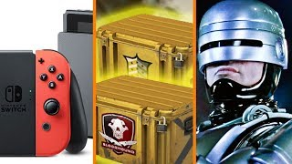 Nintendo Switch to Outsell PS4 This Year + Loot Boxes Locked Over New Laws + Robocop Returns
