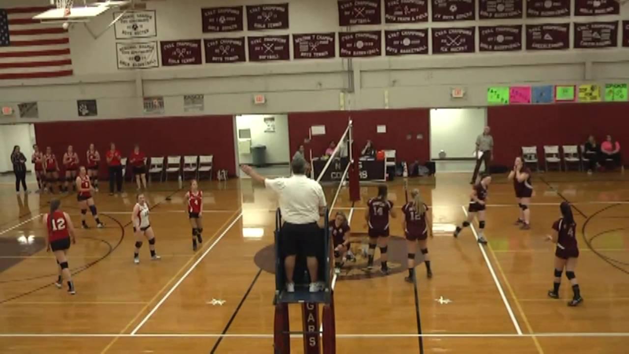 NCCS - Saranac JV Volleyball  9-26-16