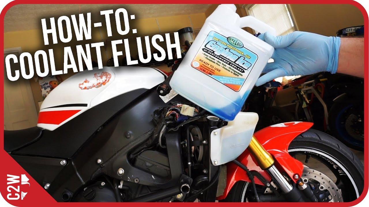 How To Motorcycle Coolant Flush 2009 Yamaha R6