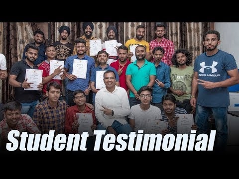 All about Arunz Creation Vol17 Student Testimonial
