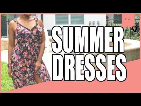 Summer Dresses Forever 21 | Kaye Wright