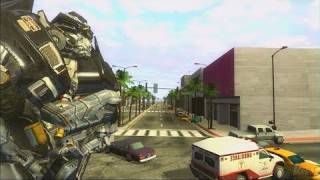 Transformers: The Game PlayStation 3 Trailer - Ironhide