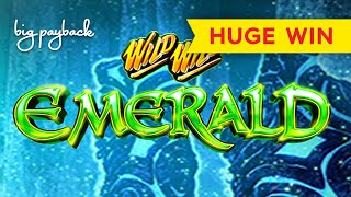 WHOA, I COULDN'T BELIEVE IT! Wild Wild Emerald Slot - HUGE WIN!