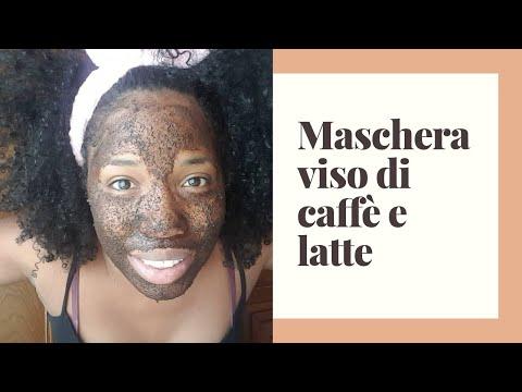 Maschera viso al latte e caffè per ogni tipo di pelle