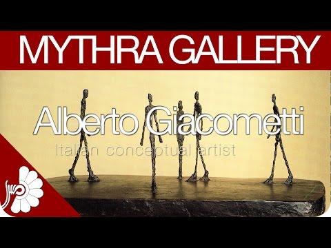 Alberto Giacometti - Swiss sculptor, painter, draughtsman and printmaker