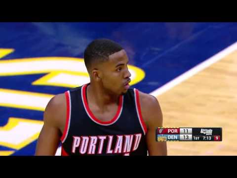 NBA 2016/17 : Portland Trail Blazers vs Denver Nuggets - Dec 15, 2016