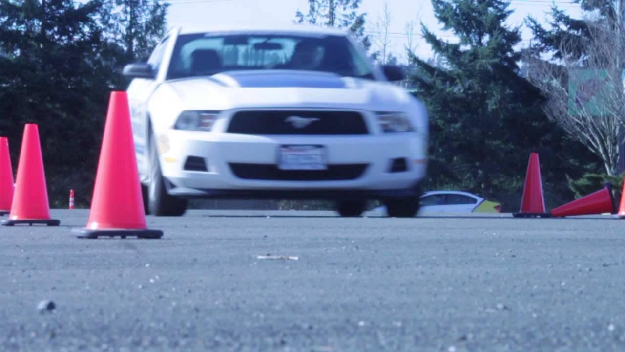 Skid Monster / Collision Avoidance | Defensive Driving School
