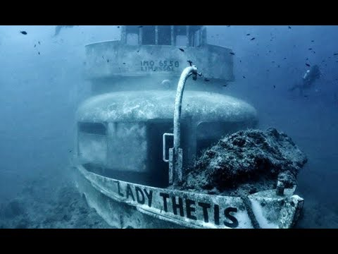 Scuba Diving The Lady Thetis Shipwreck, Cyprus
