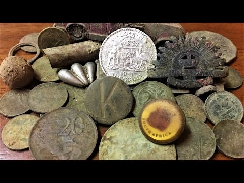 Metal Detecting Old Gold Mining Town Old Coins And Silver Found Part 3