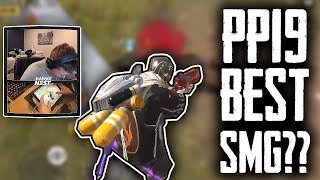 PP19 is insane now? 18 kill Win (Full Gameplay) | Rules Of Survival