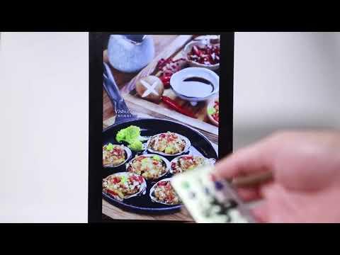 Funtek 10 inch IPS Table Top Advertising Player For Restaurants