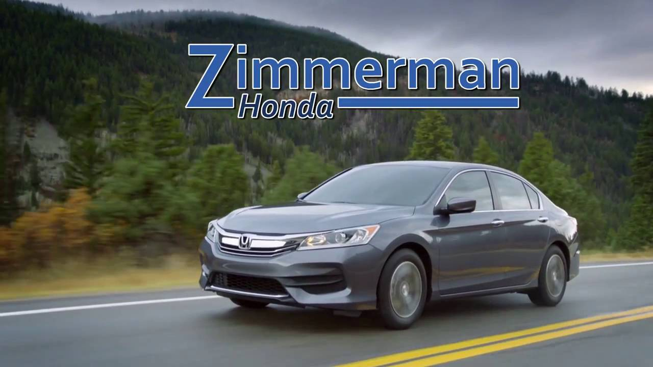 Zimmerman Honda Moline Civic, Accord, CRV - YouTube