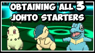 Pokeology Facts: Glitches: Obtaining All 3 Johto Starters [G/S/C]