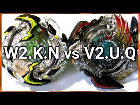 Wild Wyvern .K.N vs Victory Valkyrie .U.Q - BATALHA BEYBLADE BURST! ベイブレードバースト