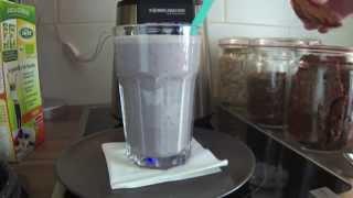 Let's Cook - Vegan For Fit - Heidelbeer-cerealien-shake