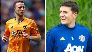 What Diogo Jota said when asked if he would swap Wolves stars for Man Utd's Harry Maguire- transf...