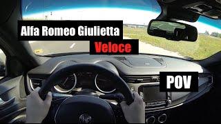 2016 Alfa Romeo Giulietta Veloce (QV) 1750 TBi POV Test Drive