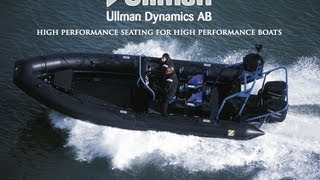 Shock Mitigating Boat Seats with Zodiac Hurricane CZ7 (7m RHIB)  video from 2002