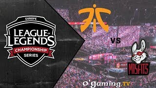 Rekkles vs Hans Sama ! - 1/2 Finale - FNC vs MSF - GAME 2 (LCS EU Summer)