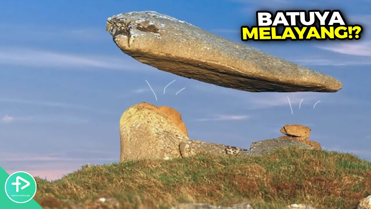 Fenomena Tak Masuk Akal Tapi Nyata! Ratusan Tahun Batu Ini Melayang dan Orang² Belum Tau Alasannya!