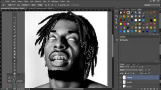 FBZ - Meechy Darko - Abstarct Portrait (Speed Art)