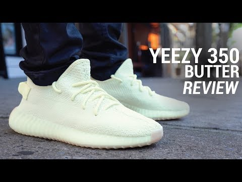 ADIDAS YEEZY BOOST 350 V2 BUTTER REVIEW