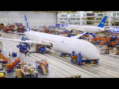 Boeing 787 Dreamliner Factory Assembly!