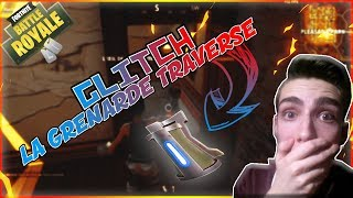 THE GRENADES TRAVERSENT THE MURS GLITCH FORTNitE BATTLE ROYALE