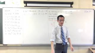 5.3 Quadratics: Quick Questions #2 (Non-Monic)