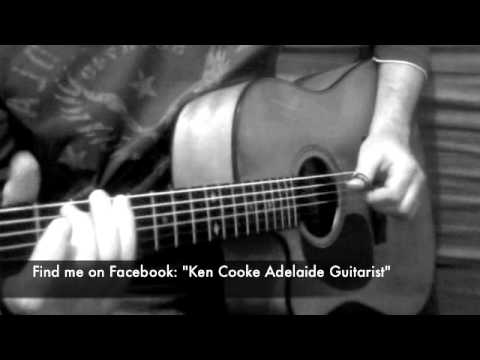 Plans - Birds Of Tokyo - solo acoustic guitar by Ken Cooke
