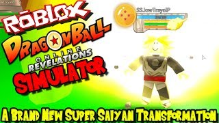 A BRAND NEW SUPER SAIYAN TRANSFORMATION! | Roblox: Dragon Ball Online Revelations SIMULATOR