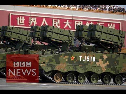 China's weaponry on display - BBC News