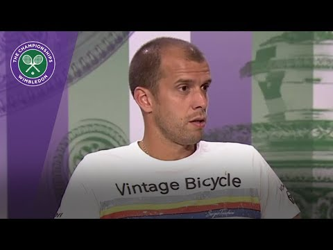 Gilles Muller Wimbledon 2017 quarter-final press conference