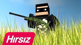 🎵 HIRSIZ FT. DJ ŞEMSETTİN - HIRSIZ 🎤 (Minecraft Music Video) THEMURAT