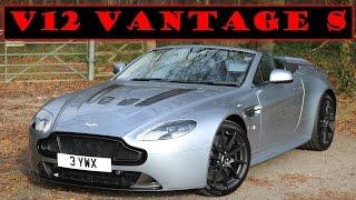 Aston Martin V12 Vantage S Roadster 2015 Videos