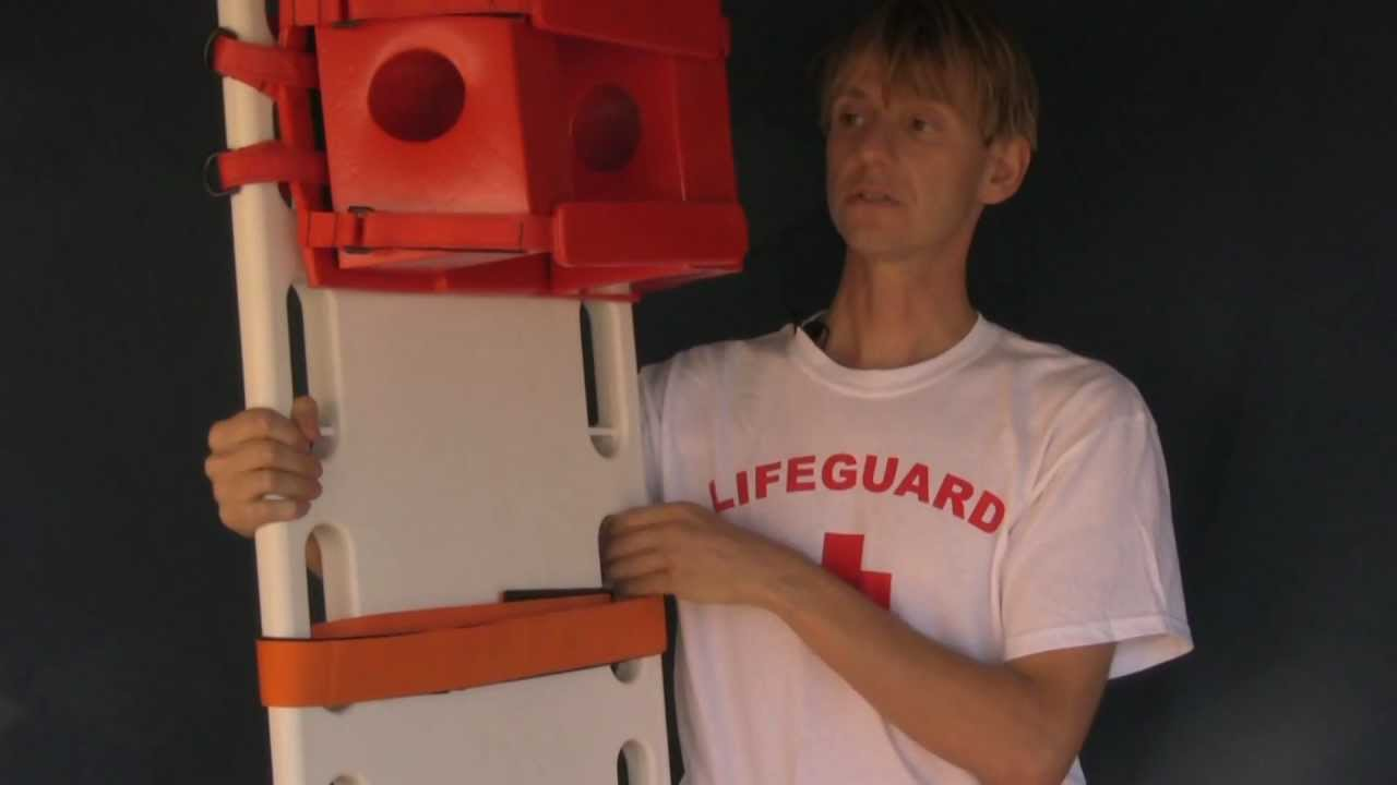 5623260dc50 SPINE BOARD - SPINEBOARDS - LIFEGUARD BACKBOARD - YouTube