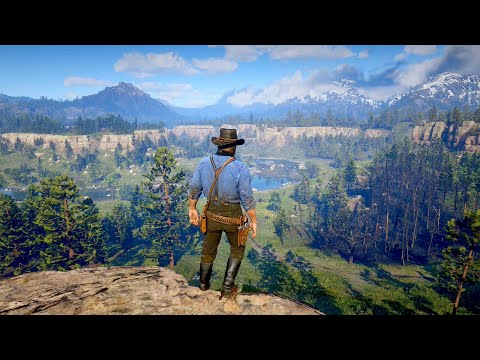 Red Dead Redemption 2 PC  Combat & Free Roam Gameplay  RTX 2080 Ti