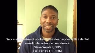 Successful treatment of sleep apnea using a Narval