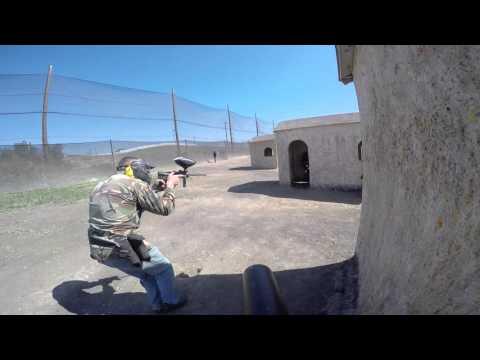 Paintball - Marine Corps Base Camp Pendleton - Ethan's BIrthday