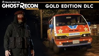 ghost Recon Wildlands - All Gold Edition Weapons/Outfits/Vehicles DLC (Bolivian Minibus Location)