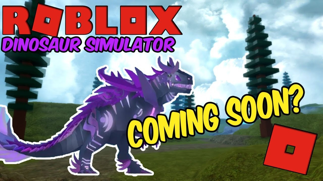 Nightbringer Roblox Dinosaur Simulator Roblox Dinosaur Simulator Finished Night Bringer Coming Soon Youtube