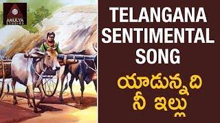 Telangana Folk Songs   Yadunnadi Nee Illu Telugu Song   Amulya Studios