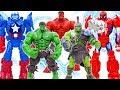 HULK SMASH~ HULK Angry & THANOS Battle AVENGERS #Toymarvel