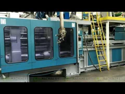 Collaudo pressa ad iniezione usata BMB KW 1300
