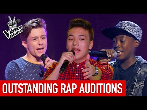 The Voice Kids | OUTSTANDING 'RAP' Blind Auditions